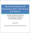Electronic remittance Data
